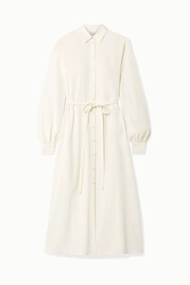 Co Crepe Midi Dress - Ivory
