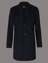 Autograph Unlined Wool Blend Coat