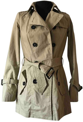 Benetton Beige Cotton Trench coats