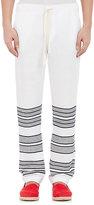 Lemlem MEN'S BEACH PANTS-WHITE SIZE S