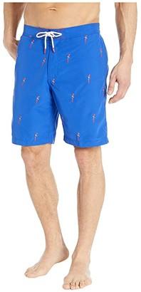 Tommy Bahama Baja Parrot Mamba Boardshorts (Cobalt Haze) Men's Swimwear
