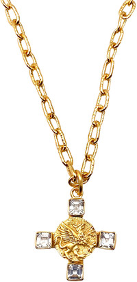 Dina Mackney Topaz Griffin Pendant Necklace