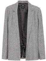 A.P.C. Hall wool-blend blazer