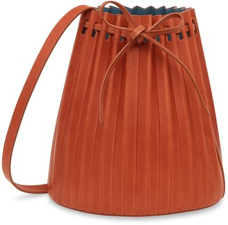 Mansur Gavriel Pleated Bucket Bag - Avion