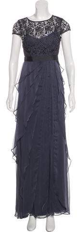 Adrianna Papell Lace Maxi Dress