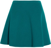 Miu Miu Wool Mini Skirt - Jade