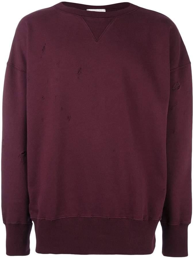 Faith Connexion 'Destroyed' sweatshirt