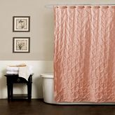 Bed Bath & Beyond Noelle Pintuck Shower Curtains in Peach