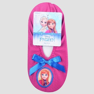 Disney Toddler Girls' Frozen Anna Slippers -