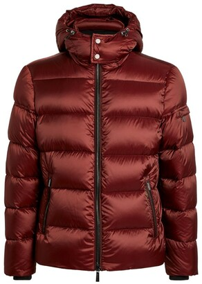 Moorer Hooded Quilted Jacket