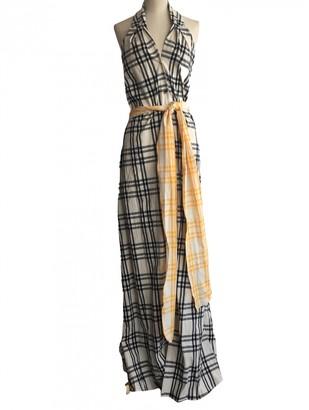 Rosie Assoulin Ecru Cotton Dresses