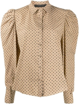 FEDERICA TOSI Relaxed-Fit Puff-Sleeves Shirt