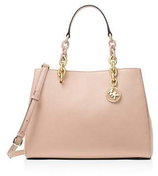 MICHAEL Michael Kors Cynthia Convertible Medium Leather Satchel