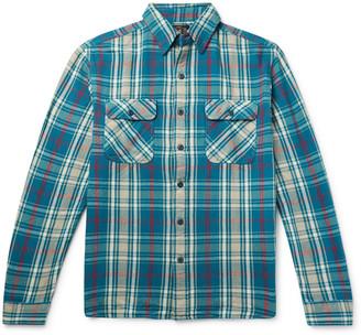 Ralph Lauren RRL Matlock Slim-Fit Checked Cotton-Flannel Shirt