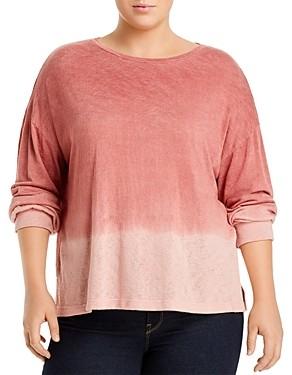 LnA Plus Dip-Dye Cotton Top