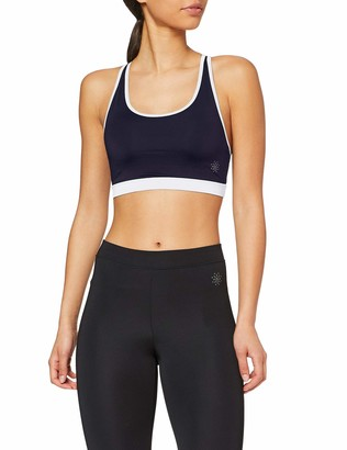 Aurique Amazon Brand Women's Low Impact Strappy Yoga Sports Bra