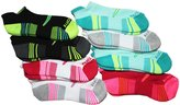 Saucony Women's Performance No Show Tab Socks - 8 Pack