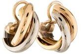 Cartier Trinity de Hoop Earrings