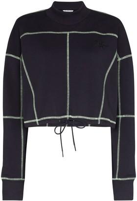 Daily Paper Heoblai cropped sweatshirt