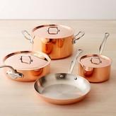 Mauviel Copper Triply 7-Piece Cookware Set
