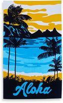 """Aloha"" Tropical Beach Towel"