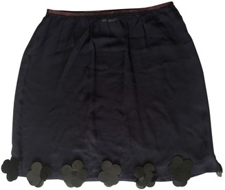Sonia Rykiel Sonia By Blue Silk Skirt for Women