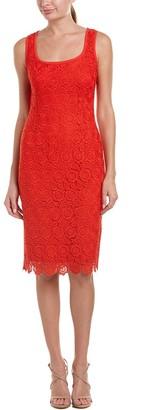 Anne Klein Women's Crochet Lace Sheath Dress
