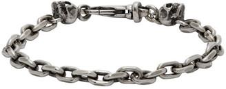 Emanuele Bicocchi Silver Chain Link Bracelet