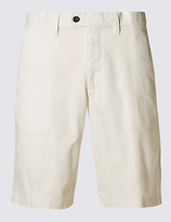 M&s Collection Pure Cotton Regular Fit Shorts