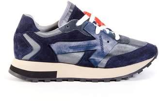 Off-White Off White color block hg runner sneakers dark blue