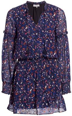 Parker Laura Floral Mini Dress