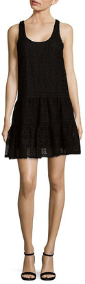 Ramy Brook Laced Scoopneck Shift Dress