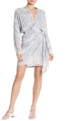 Young Fabulous & Broke YFB by Raine Tie Dye Wrap Dress