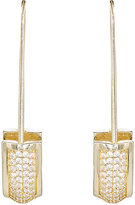 Fallon WOMEN'S SAFETY PIN EARRINGS-GOLD
