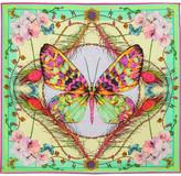 Matthew Williamson DNA Butterfly printed silk scarf
