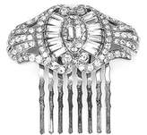 Ben-Amun Women's Classic Pearl and Crystal Deco Hair Comb