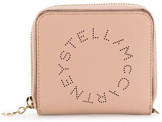Stella McCartney small Stella Logo perforated wallet