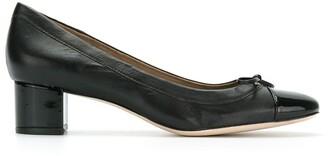 Sarah Chofakian Amour bow-embellished pumps