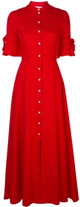 Carolina Herrera Long Shirt Dress