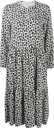 VIVETTA Animal-Print Midi Dress