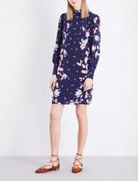 Erdem Kayo Lily-print silk-crepe dress