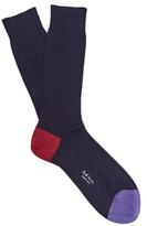 Paul Smith Ribbed-knit cotton-blend socks