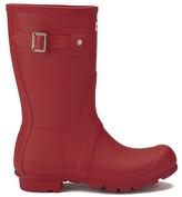 Hunter Women's Original Short Wellies Military Red
