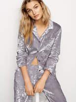 Victoria's Secret Victorias Secret Crushed Velvet Button-front Sleepshirt