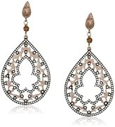 Azaara Filigree Small Teardrop Earrings
