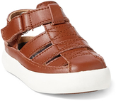 Polo Ralph Lauren Tan Sander Fisherman II Leather Sandal - Toddler