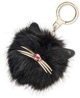 Kate Spade Cat Pouf Key Fob