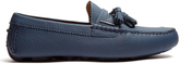 Burberry Knighton grained-leather loafers