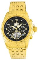 Burgmeister Men's ' Automatic and Stainless-Steel-Plated Casual Watch, Color:Gold-Toned (Model: BM127-229)