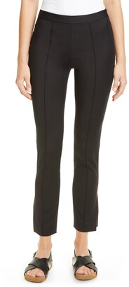 PARTOW Maurice Side Slit Ankle Pants
